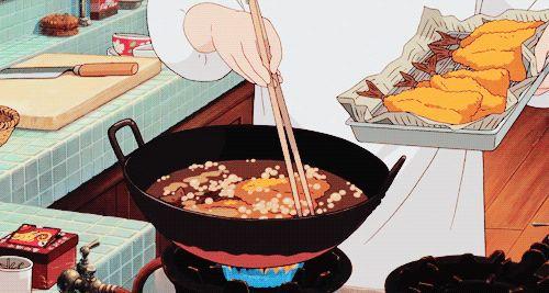 High 20 des gifs de nourriture des movies des Studios Ghibli qui vont te donner faim, parce qu'avec Miyazaki on dévore avec les yeux