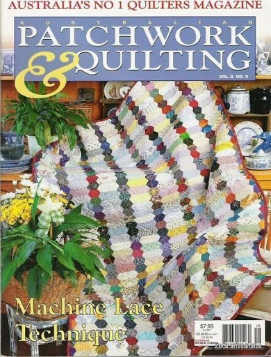Revistas Patchwork -2001 75 pages with patterns, gita's mytsery part 3 - Picasa Webalbumok