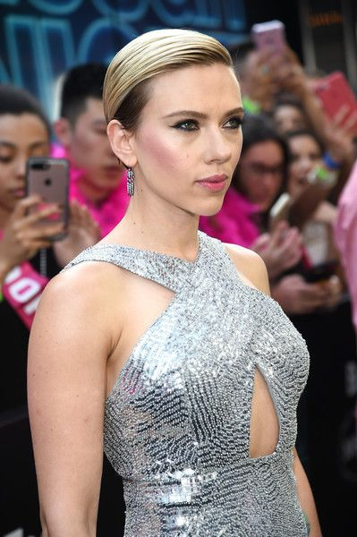 Scarlett Johansson Photos Photos - Actress Scarlett Johansson attends New York Premiere of Sony's ROUGH NIGHT presented by SVEDKA Vodka  at AMC Lincoln Square Theater on June 12, 2017 in New York City. - New York Premiere of Sony's ROUGH NIGHT Presented by SVEDKA Vodka