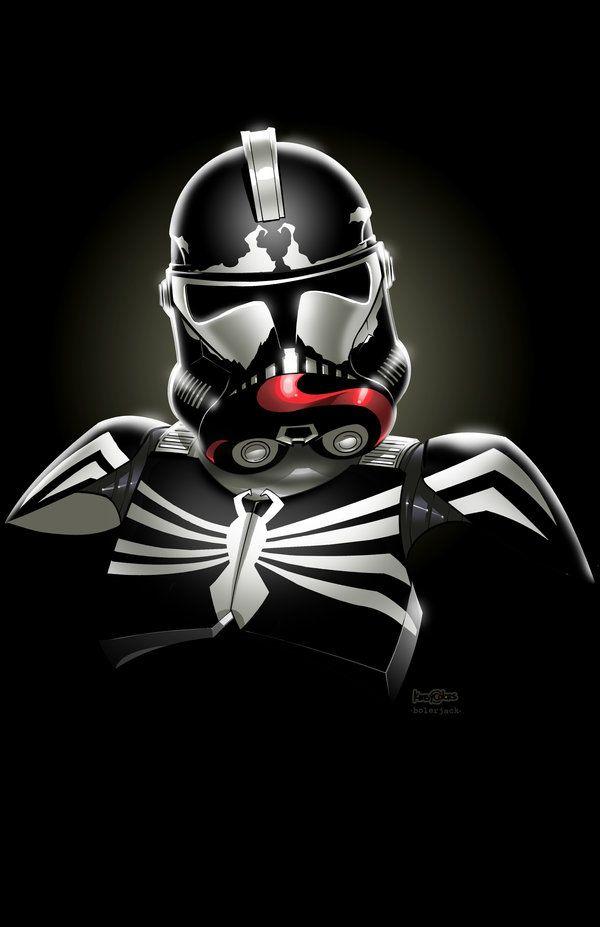 Venom clone trooper