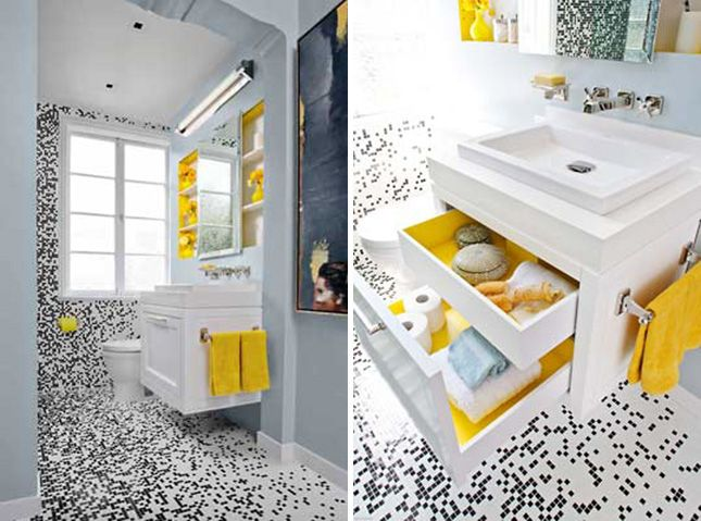 Monochrome Bathroom