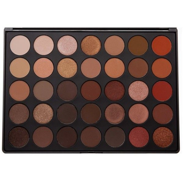 35O 35 COLOR NATURE GLOW EYESHADOW PALETTE Morphe ($23) ❤ liked on Polyvore featuring beauty products, makeup, eye makeup, eyeshadow and palette eyeshadow
