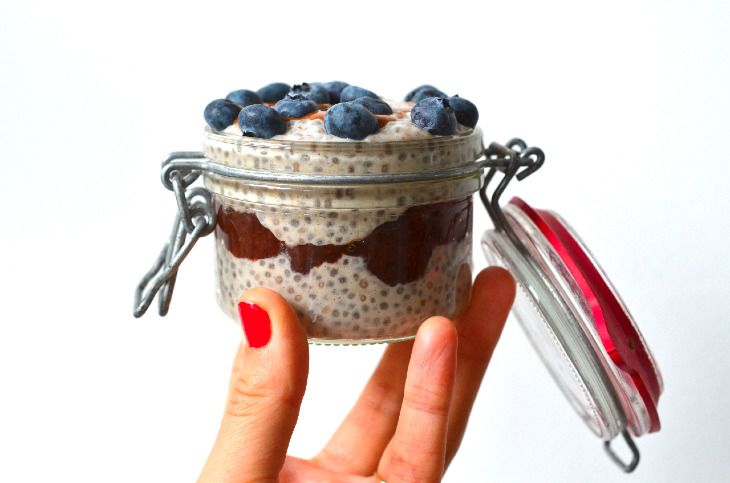 Chia Banana Trifle (so delicious!) | Rens Kroes