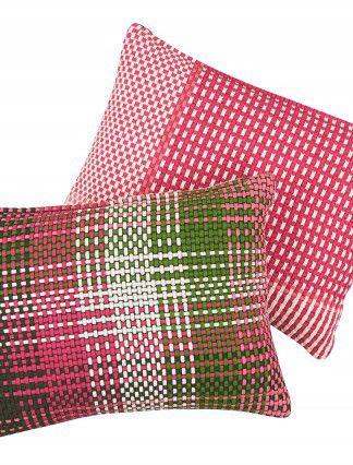 Shoelace Raspberry - SIMON KEY BERTMAN TEXTILE DESIGN & ART -Nordic Design Collective