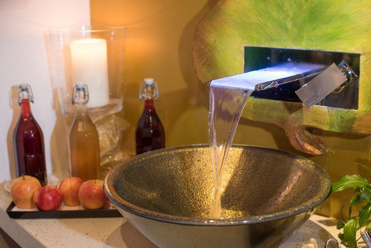 Erfrischungsmeile - frisches Kirchheimer Quellwasser im Hotel Almrausch**** www.almrausch.co.at