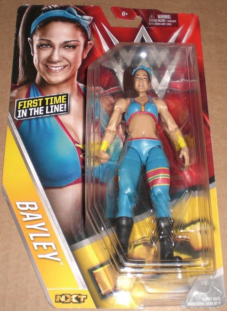 Mattel WWE NXT Bayley First Wrestling Action Figure NIB - http://bestsellerlist.co.uk/mattel-wwe-nxt-bayley-first-wrestling-action-figure-nib/