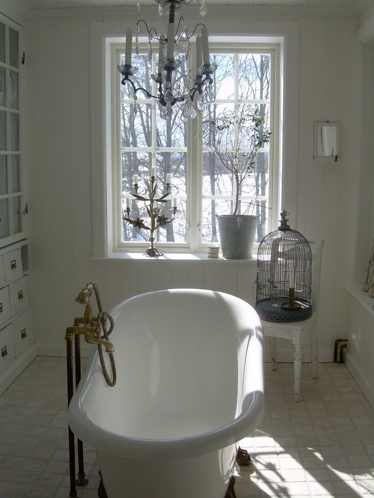 616 best Shabby Chic Bathrooms images on Pinterest Room Shabby