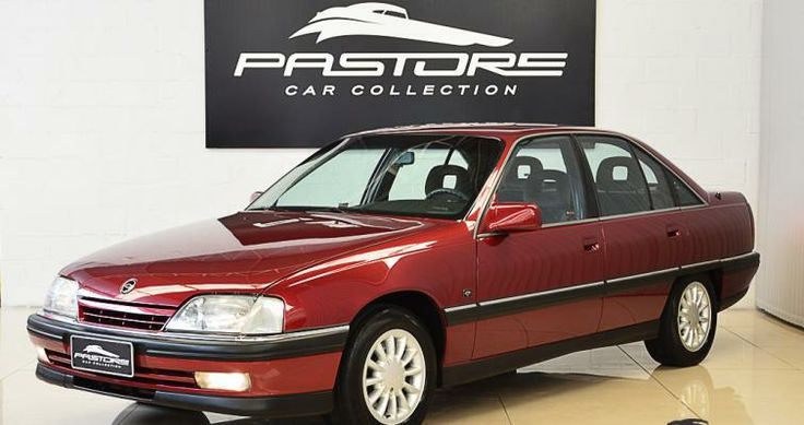 Gm Omega 3.0 Diamond 1994 Vermelho Goya - Pastore Car Collection
