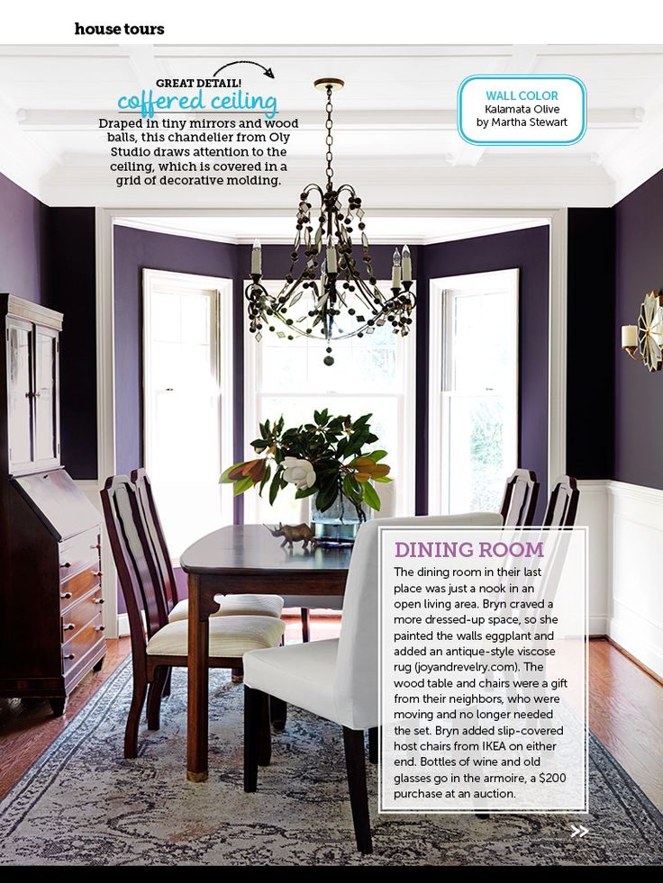 20 Best Purple Walls Images On Pinterest