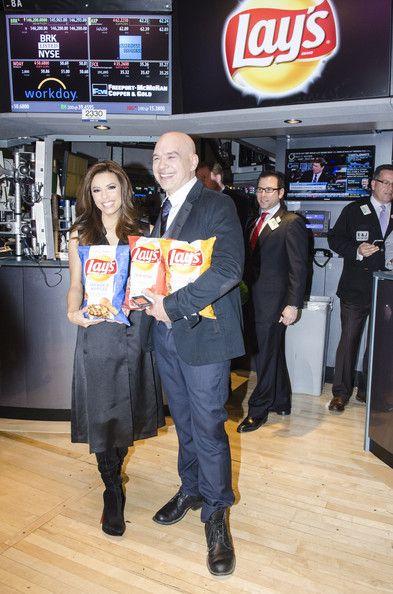 "Eva Longoria Photos: NYSE Celebrates Lay's ""Do Us a Flavor"" Contest Finalists"