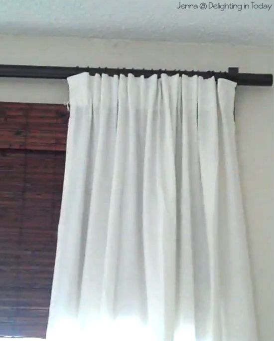 Tutorial Different Ways To Hang Curtains Diy Curtains