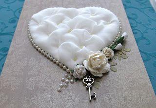 """~Улыбаемся и скрапим!~: МК от Lady Nika: """"Мягкое сердце""""/ Soft heart tutor..."""