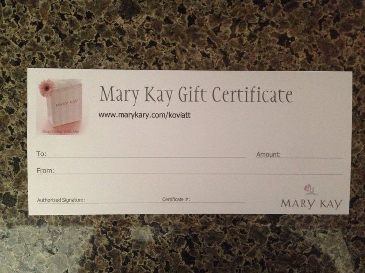 17 Best images about Gift Certificate on Pinterest | South hill ...