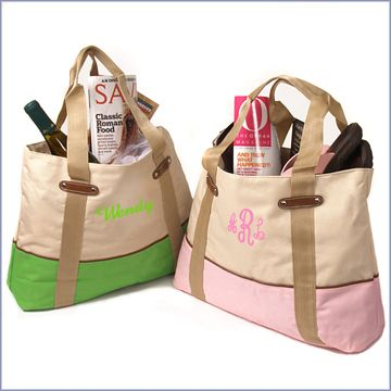 personalized totes :: great for gifts