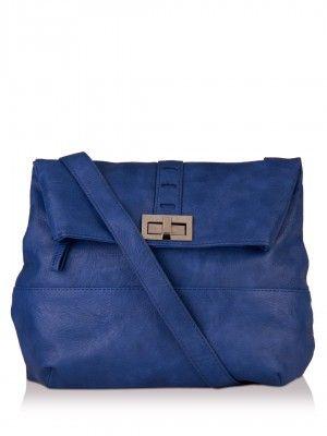 Baggit Twist Lock Detail Sling Bag available on koovs.com