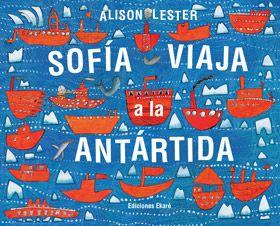 Sofía viaja a la Antártida. Es el primer viaje de Sofía a la estación Mawson, en la Antártida. Junto con su padre y la gran tripulación del Aurora Australis, descubrirá un mundo maravilloso, lleno de pingüinos, ballenas, icebergs y auroras australes. Un libro que intercala información y ficción, narrado en forma de diario, que invita a conocer uno de los lugares más hermosos del planeta.