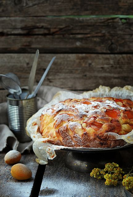 apricot pie by Zoryanchik, via Flickr