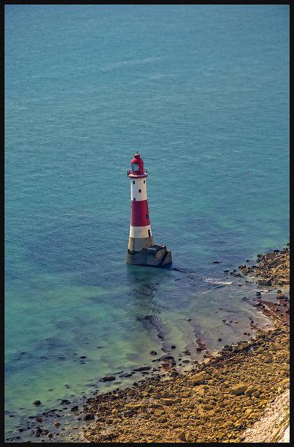 yesmrholmes: Belle Tout Lighthouse, Beachy Head by littlemissspidey on Flickr  — FUCKITANDMOVETOBRITAIN