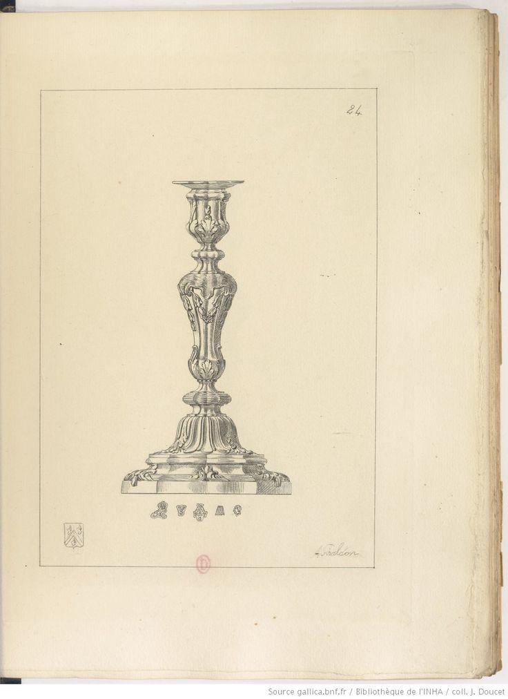 1758. François Thomas Germain. Collection de Paul Eudel.