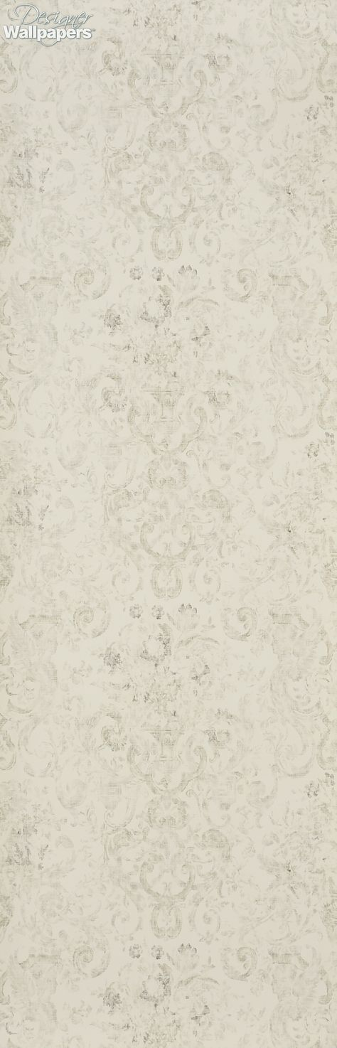 Old Hall Floral is a subtle and understated, classically-inspired, floral and scroll designed wallpaper, from Ralph Lauren. The pattern is slightly faded to give it a more casual, 'vintage' look, adding to its decadent and distinguished feel. The design has also been printed on a luxurious weight of paper in the fashion house's signature colour combinations. (Produced on a 52cm wide, 10m roll. The pattern repeat measures 52cm, with a straight match)