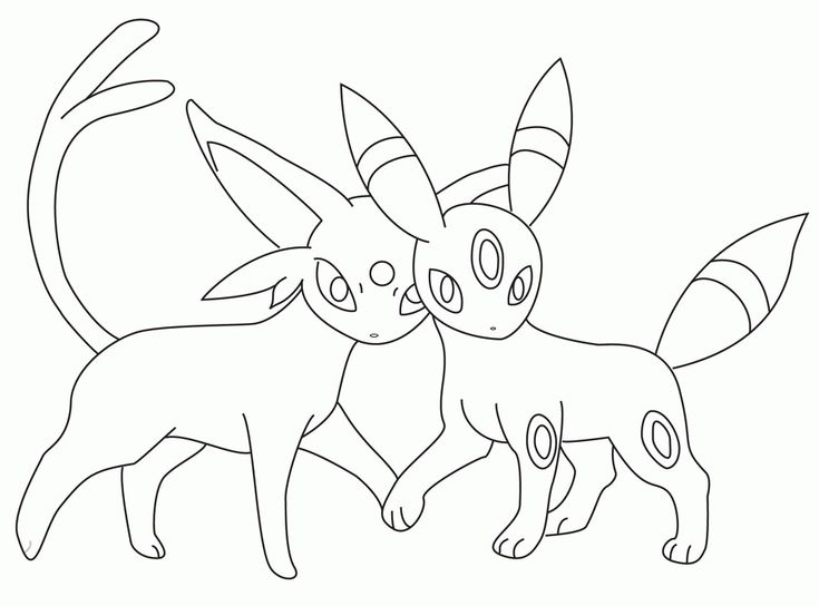 Umbreon Coloring Page Coloring Home Pokemon Coloring Pages Coloring Pages Free Printable Coloring Pages