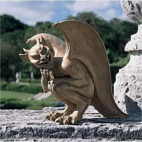"""Even Scotland Yard couldn't unravel the tales told of a mysterious """"hopping creature"""" who repeatedly left gargoyle-like tracks outside Cambridge, England as recently as 1992. Artist Richard Warsin's m"""