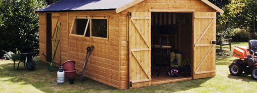 For most, a garden shed is simply a storage space for your garden tools, garden furniture, bikes and equipment. But if you're a more serious gardener, or are looking for more storage options for work or a hobby, then a wooden workshop is the right choice for you. To read the full article please follow the link -  http://www.sheds.co.uk/blog/wooden-workshops/