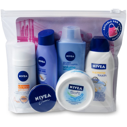 NIVEA Reiseset für Sie 2013. Travelling set for her. #nivea #gift #geschenkset #forher