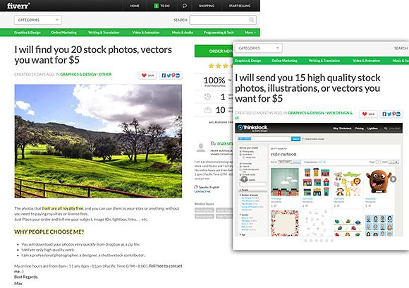 Fiverr looks the other way on illegal stock image gigs | Ember Studio