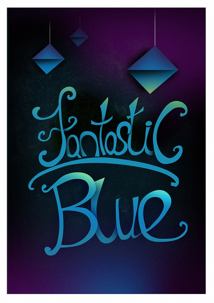 Fantastic Blue - by Szabolcs with TexturePalace textures