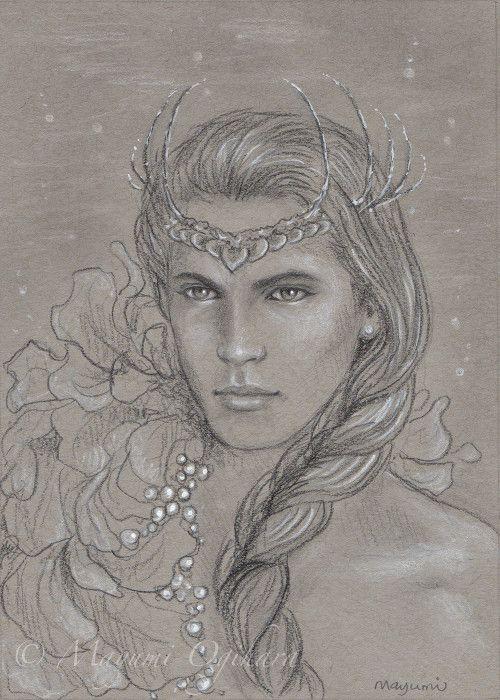 Ossë   (King of the Sea) - sketch by MayumiOgihara.deviantart.com on @DeviantArt