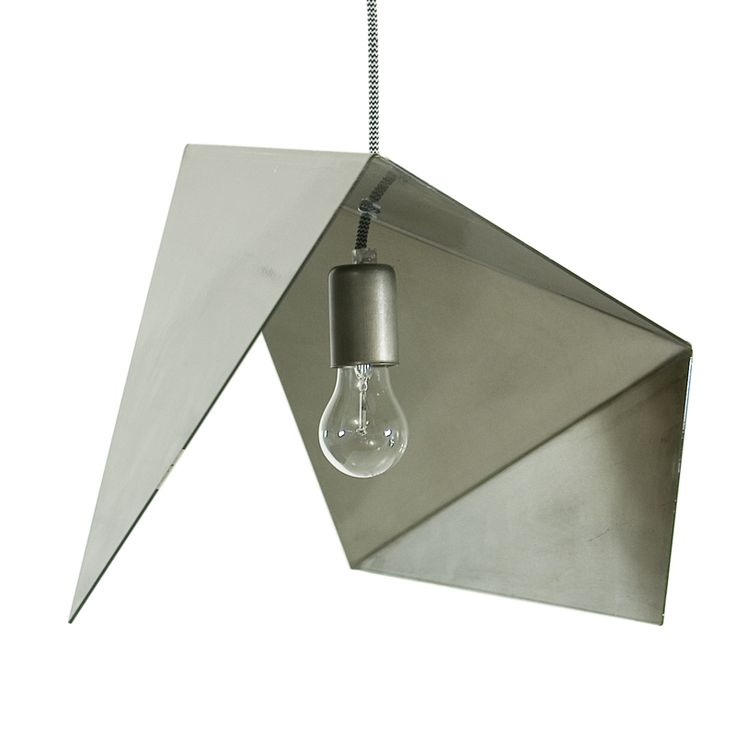 Pendant lamp Made from bent steel Gie El