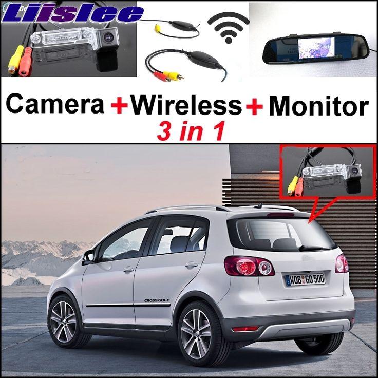 liislee for vw volkswagen golf plus crossgolf cross golf special camera wireless receiver mirror