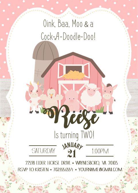Kids Bday Invitation