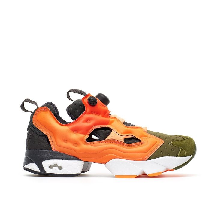 Instapump Fury ASYM from the S/S2016 Reebok collection in orange
