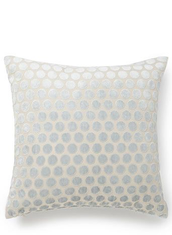 Duck egg velvet spot cushion bhs £10