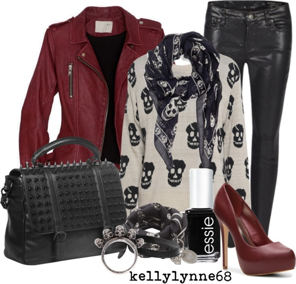 """""""Gothic Chic"""" by kellylynne68 ❤ liked on Polyvore"""