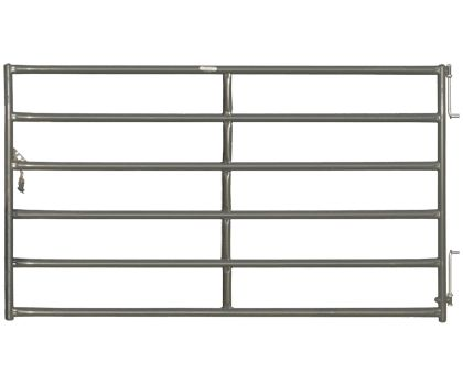 Rough Stock gates are the heaviest, most durable gate available from Priefert.   These powder-coated gates are ideal for use in heavy crowding situations.