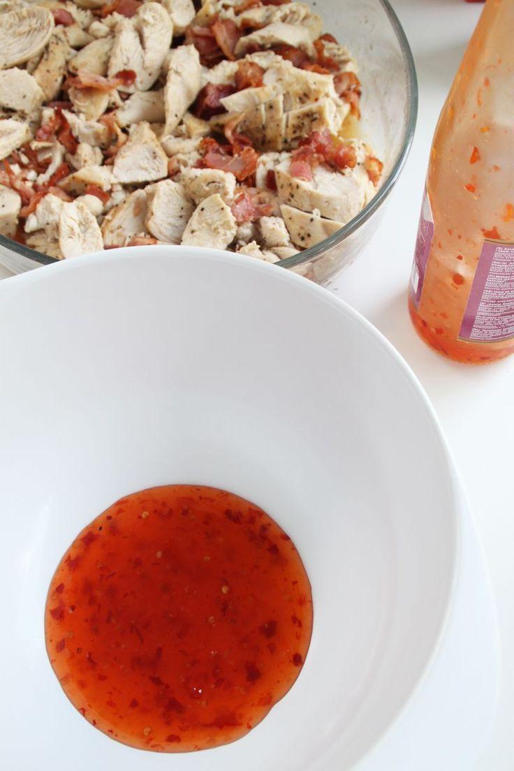 Kycklinggratäng med sweet chili & parmesan | Bakverk och Fikastunder