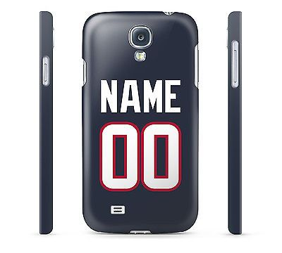 NFL Houston Texans - Personalized Hard Cover Case for iPhone, 65+ others