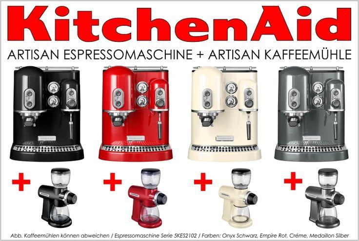 KitchenAid Artisan Kaffee- und Espressomaschine - ein MUST HAVE - kitchenaid küchenmaschine rot
