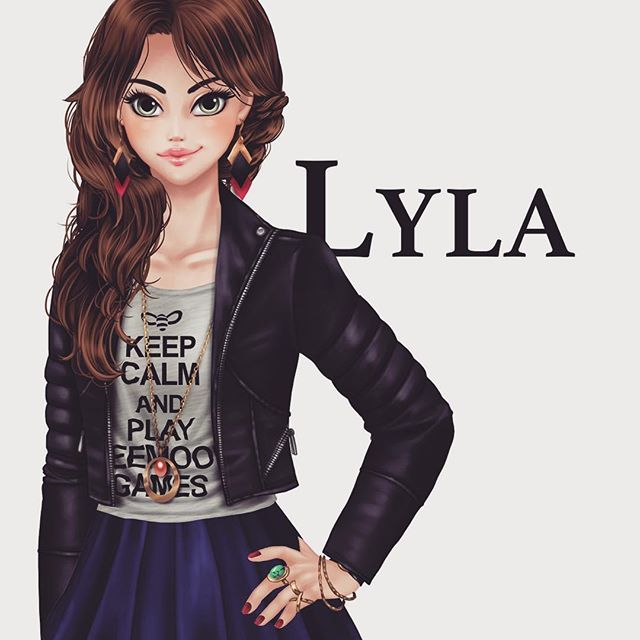 Jolie Lyla ! ❤❤❤ #Lyla #lesecretdhenri #beemoov #nineland #visualnovel #keepcalmandplaybeemoovgames #vivelesbisous