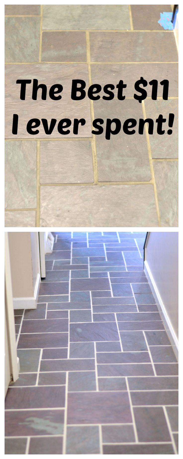 Slate Floor Grout Renew Diy Home Improvement Bloggers Best