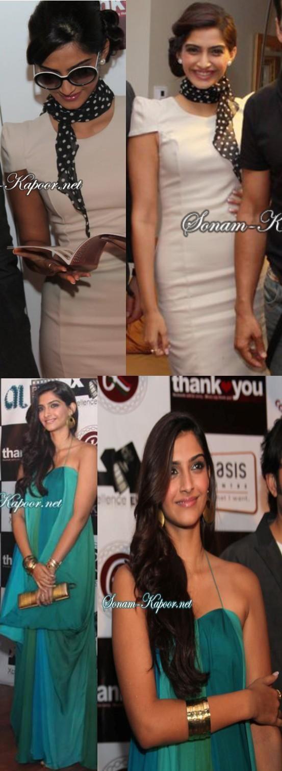 Sonam Kapoor's looks at Thank You Dubai promotion - YaY or NaY? | PINKVILLA