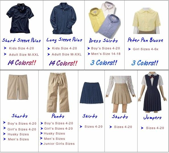 The debate about the subject of school uniforms in american