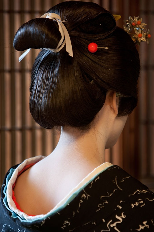 Geisha's hair