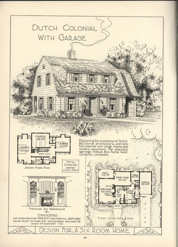 920 best dutch colonial images on pinterest exterior for Dutch colonial house plans with photos