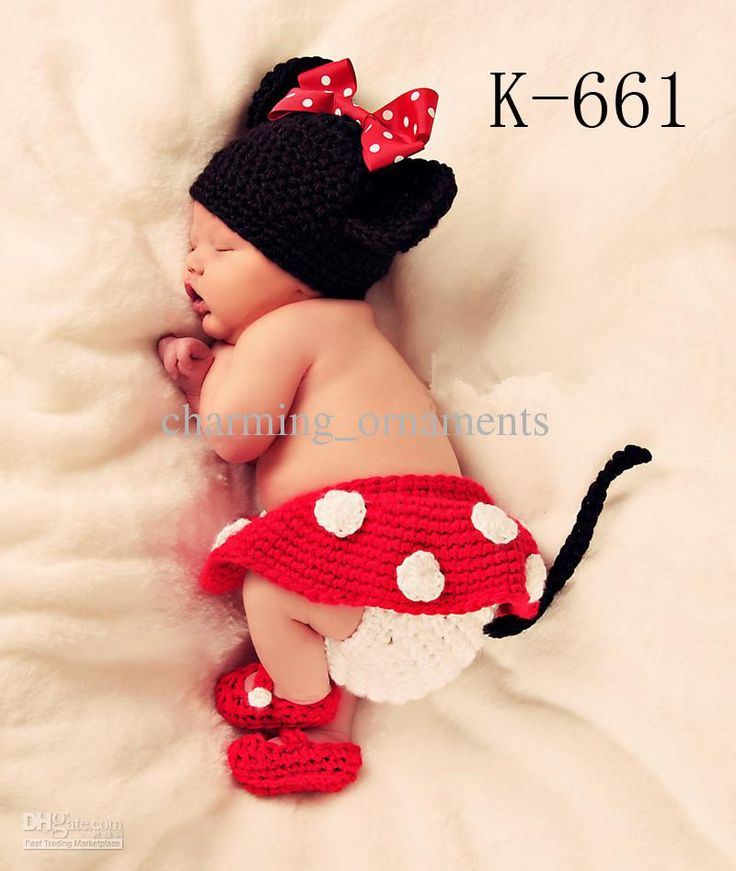 Baby Photography Props Baby Hat And Pant Crochet Hat Mum Baby Hat ...