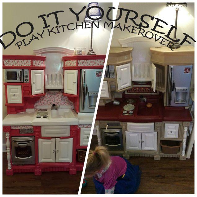 Best Diy Play Kitchen Remodel Plastic Step 2 Diy Play 400 x 300