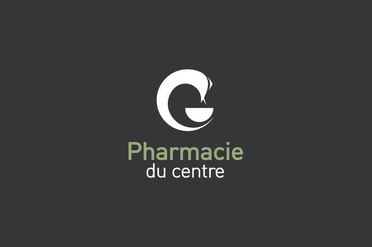 Pharmacie, logotype, identité visuelle, pharmacy, signage, visual identity • Design graphique : Aparté • Architecture intérieure : Mayelle • C.Photo : ©pierrerogeaux